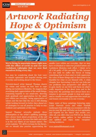 Page 20 of Artwork Radiating Hope & Optimism