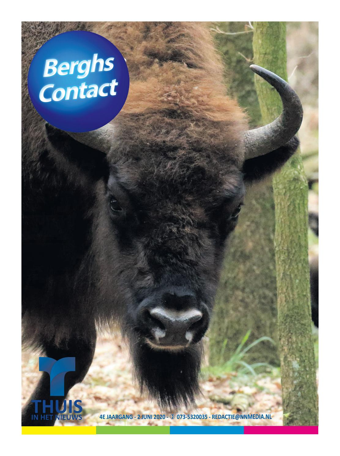 Berghs Contact 2 Juni 2020 By Thuisinhetnieuws Issuu