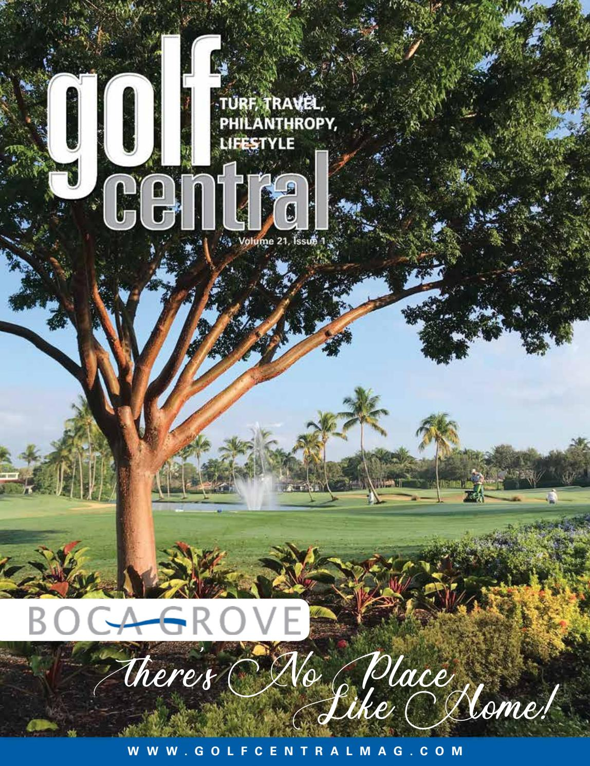 Golf Central Magazine Vol 21 Issue 1 By Shannon Coates Issuu