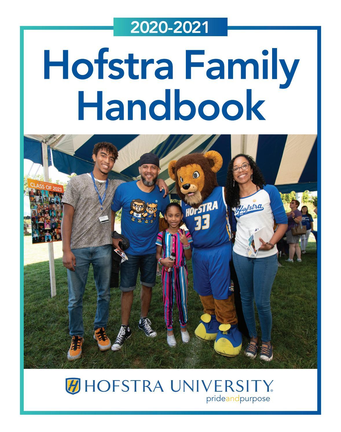 Hofstra Calendar Spring 2021 2020 2021 Hofstra Family Handbook by Hofstra University   issuu