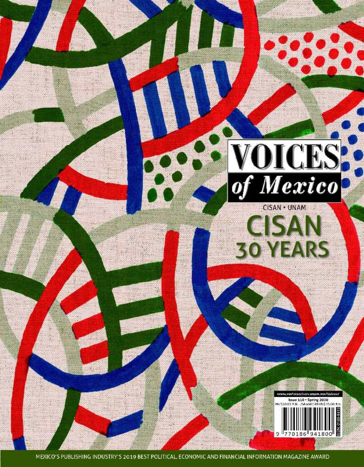 Voices Of Mexico Issue 110 By Cisan Unam Issuu