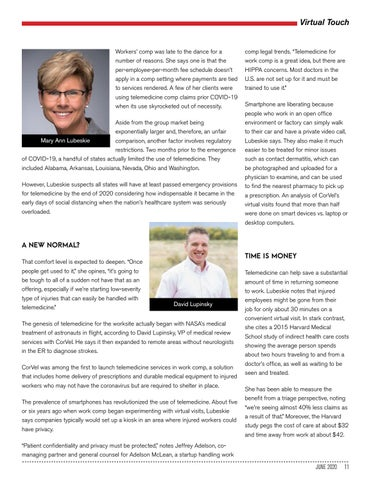 Page 11 of WORK COMP'S VIRTUAL TOUCH