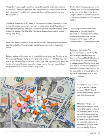Page 35 of BE READY FOR THE DRUG PRICING DEBATE TO RETURN WITH A BANG