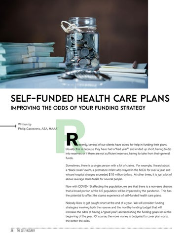 Page 38 of SELF-FUNDED HEALTH CARE PLANS