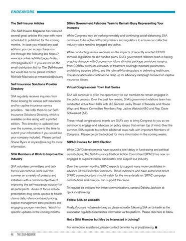 Page 46 of SIIA PAST BOARD CHAIRMAN JOHN JONES PASSES AWAY