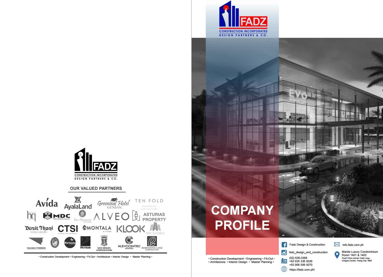Fadz Company Profile 2020 By Rommel Amor Ceballos Issuu