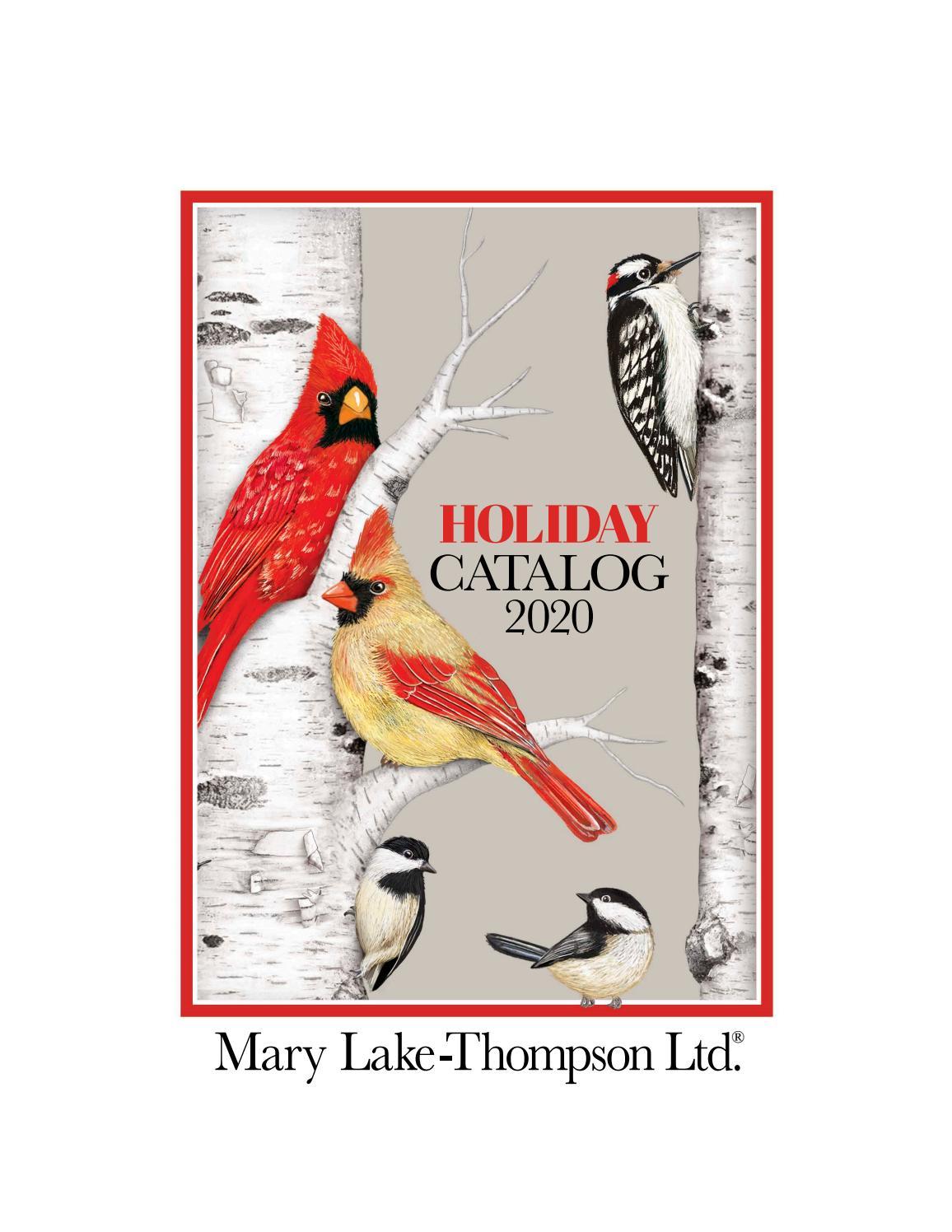 Mary Lake-Thompson Winter Birds /& Flowers Flour Sack Kitchen Towel Bagged