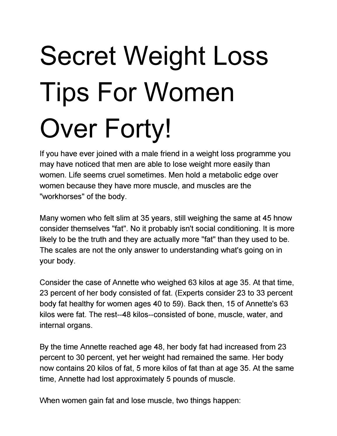 Men over forty