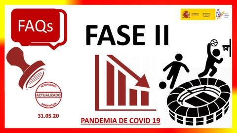 Preguntas Y Respuestas Deporte Fase 2 Actualizadas A 31 05 2020 By Fedme Issuu