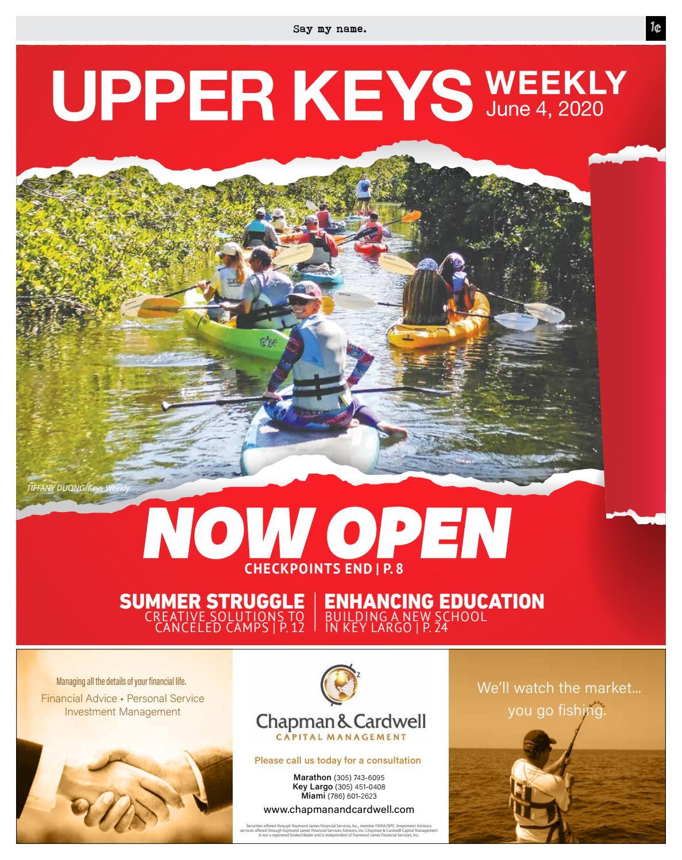 Upper Keys Weekly 20 0604 By Keys Weekly Newspapers Issuu