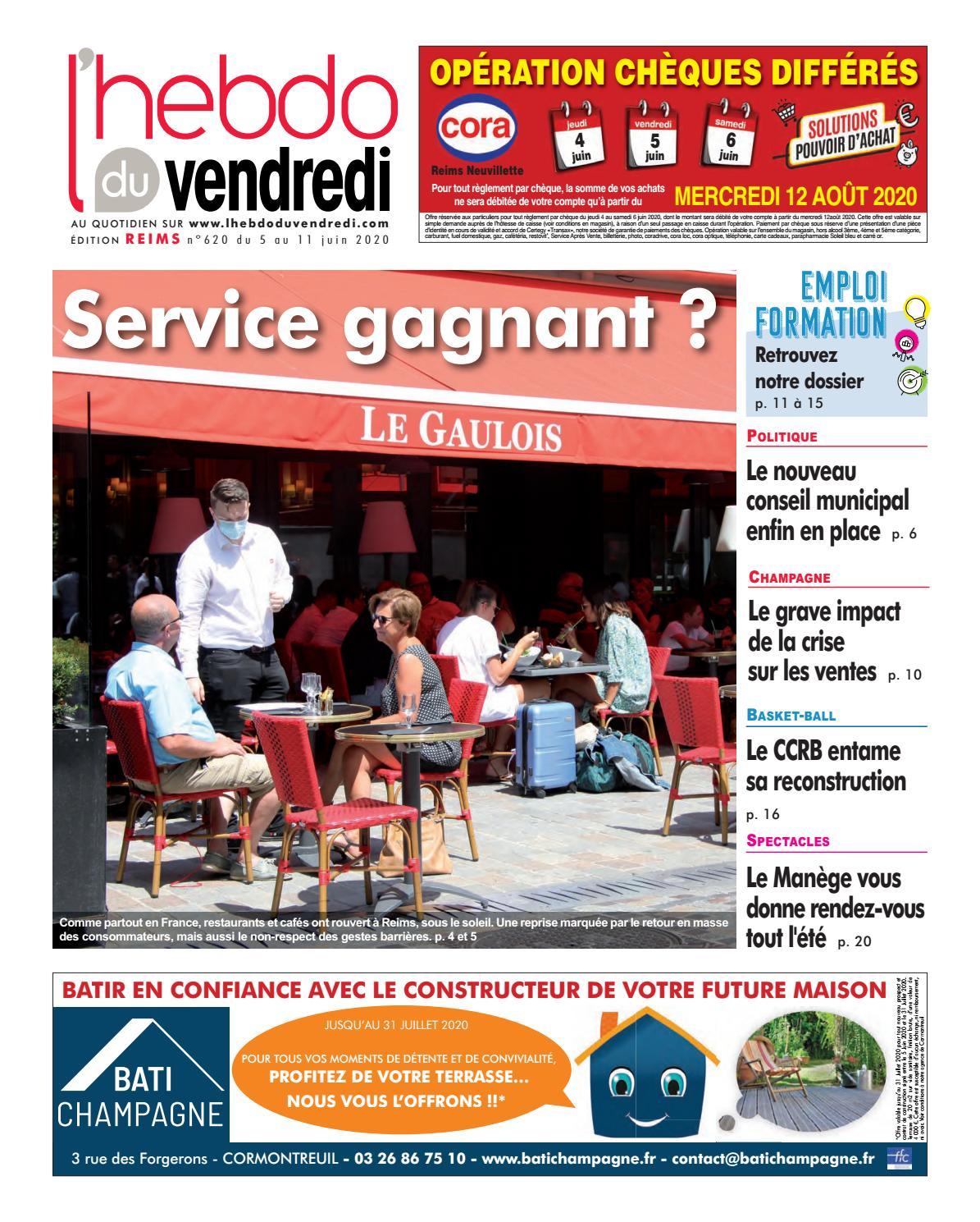 L Hebdo Du Vendredi Reims 620 By Kilkoa Issuu