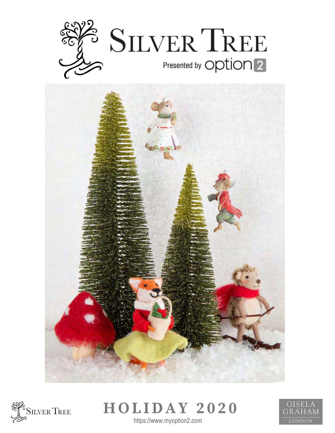 Silver Tree Holiday 2020 Catalog By Group One Associates Issuu