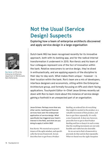 Page 76 of Not the Usual (Service Design) Suspects