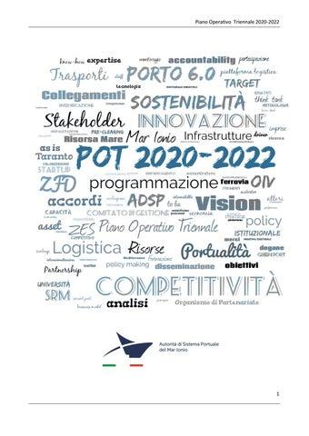 piano operativo triennale 2020 - 2022 del porto di taranto by adsp_taranto  - issuu  issuu