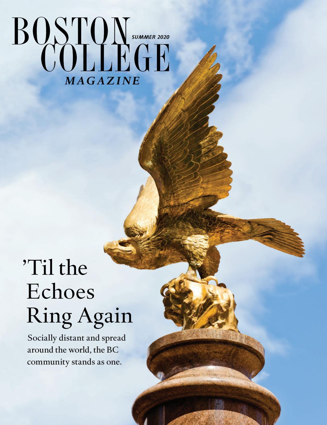 Boston College Magazine Summer 2020 By