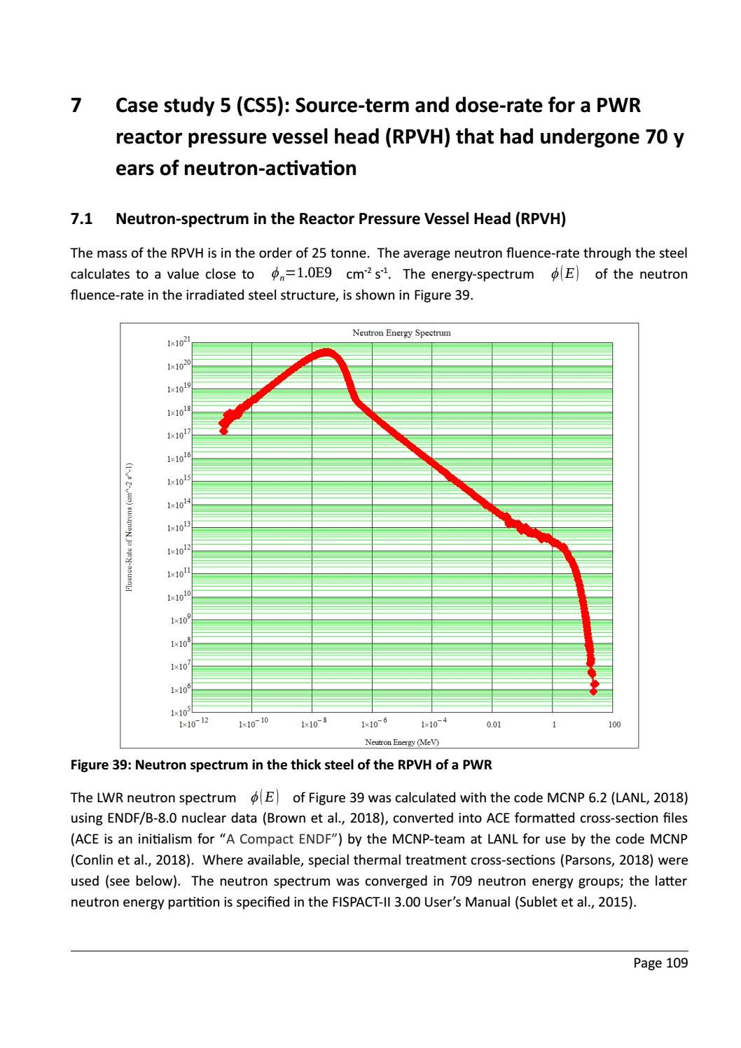 RADIOACTIVE WASTE: COMPUTATIONAL CHARACTERISATION and SHIELDING page 134