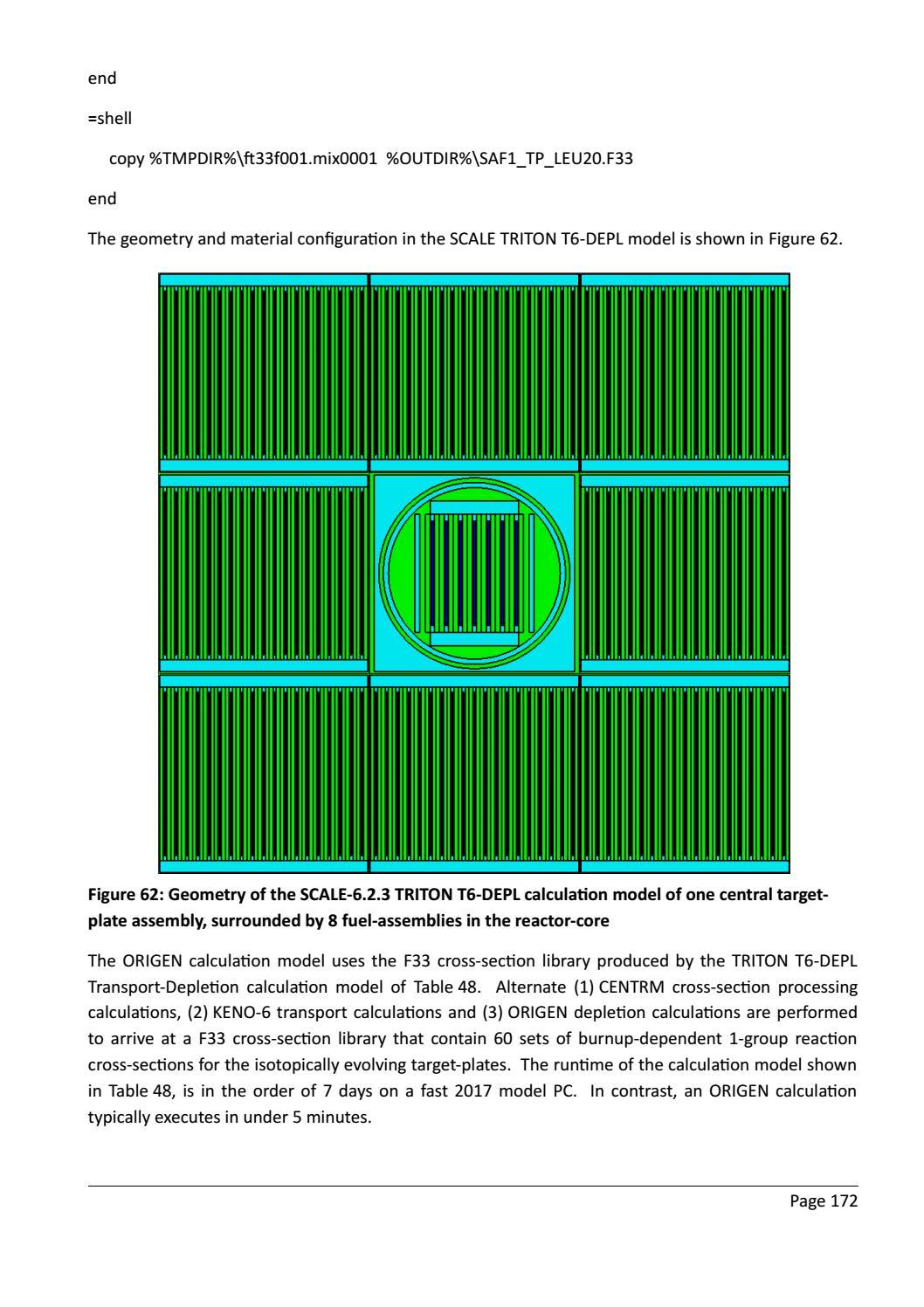 RADIOACTIVE WASTE: COMPUTATIONAL CHARACTERISATION and SHIELDING page 197