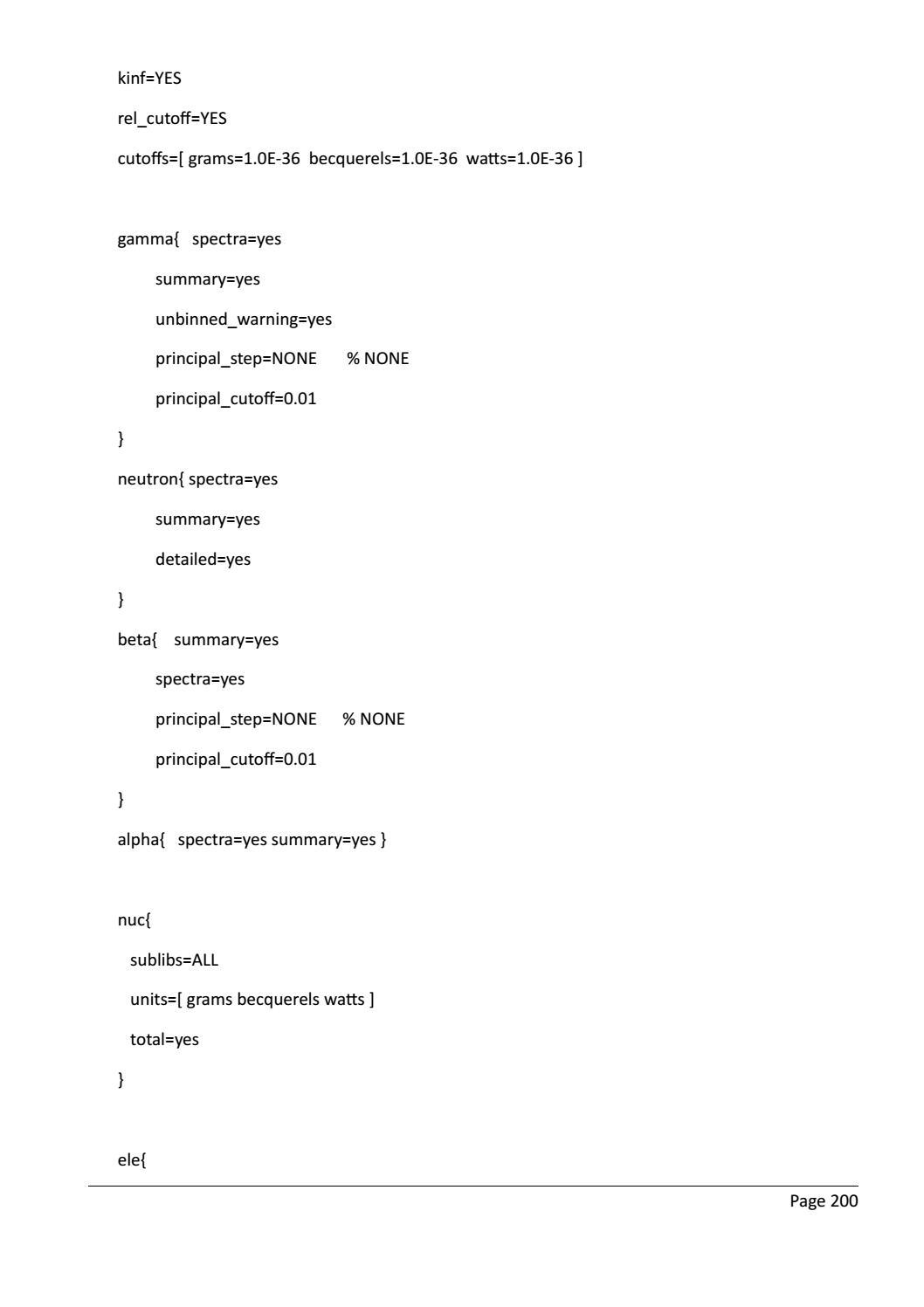RADIOACTIVE WASTE: COMPUTATIONAL CHARACTERISATION and SHIELDING page 225