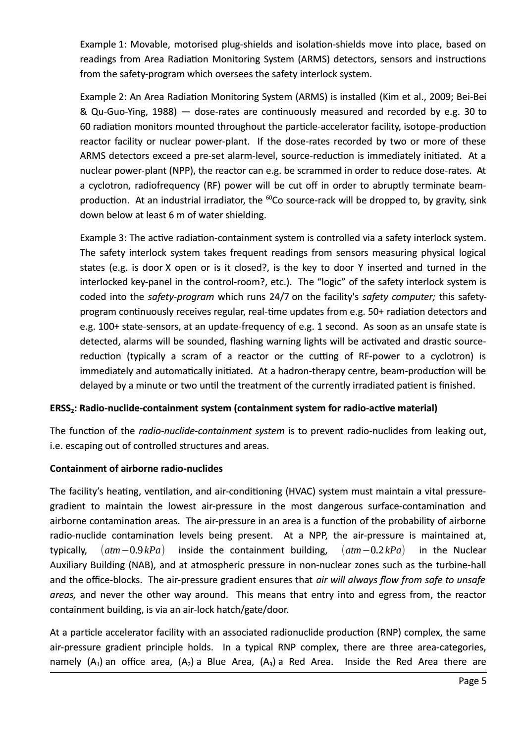 RADIOACTIVE WASTE: COMPUTATIONAL CHARACTERISATION and SHIELDING page 30