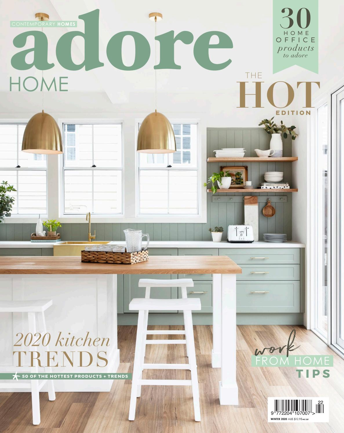 Winter 2020 By Adore Home Magazine