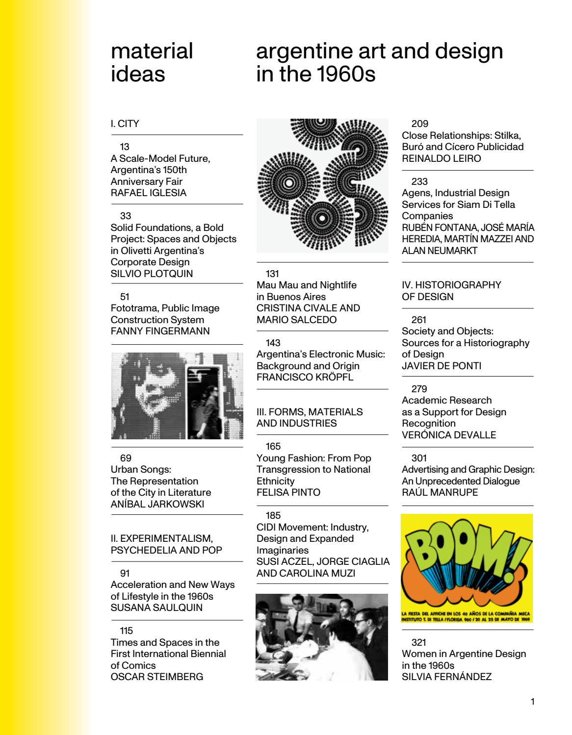 Material Ideas Argentine Art And Design In The 60s By Islaa Issuu