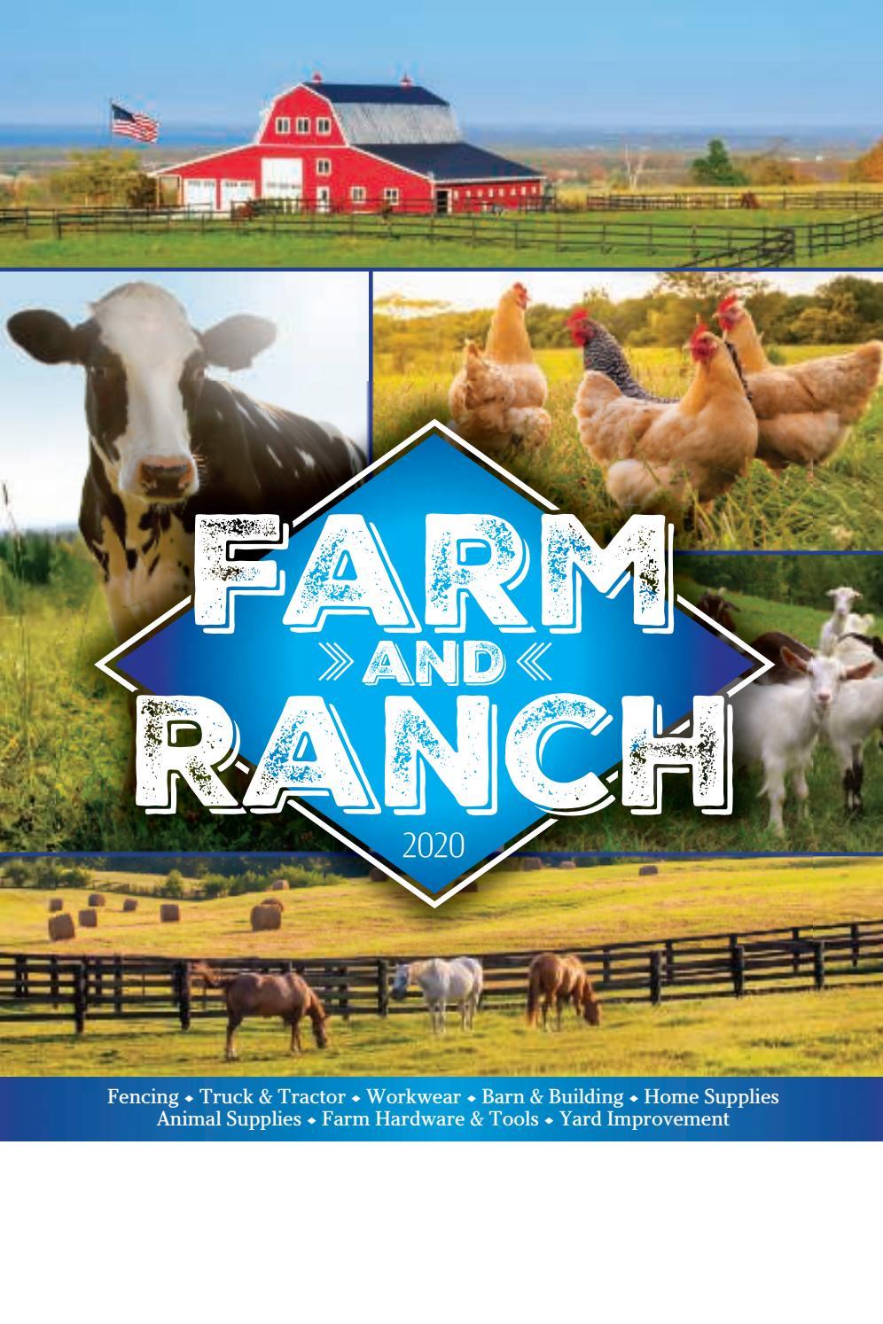 Farm and Ranch Catalog 2020 by Meek Lumber Company - issuu