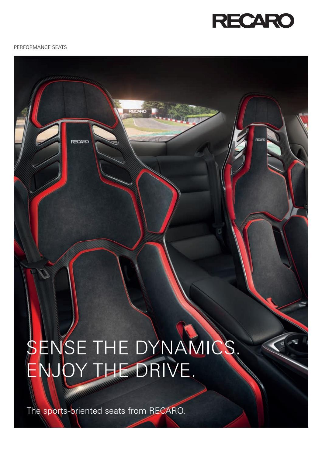 Recaro Performance Seats En By Fmk Fact Issuu