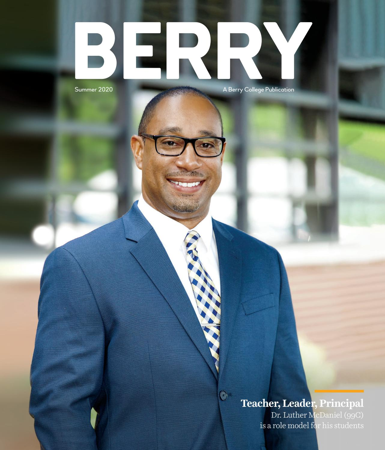 Berry Magazine Summer 2020 By Berry College Issuu