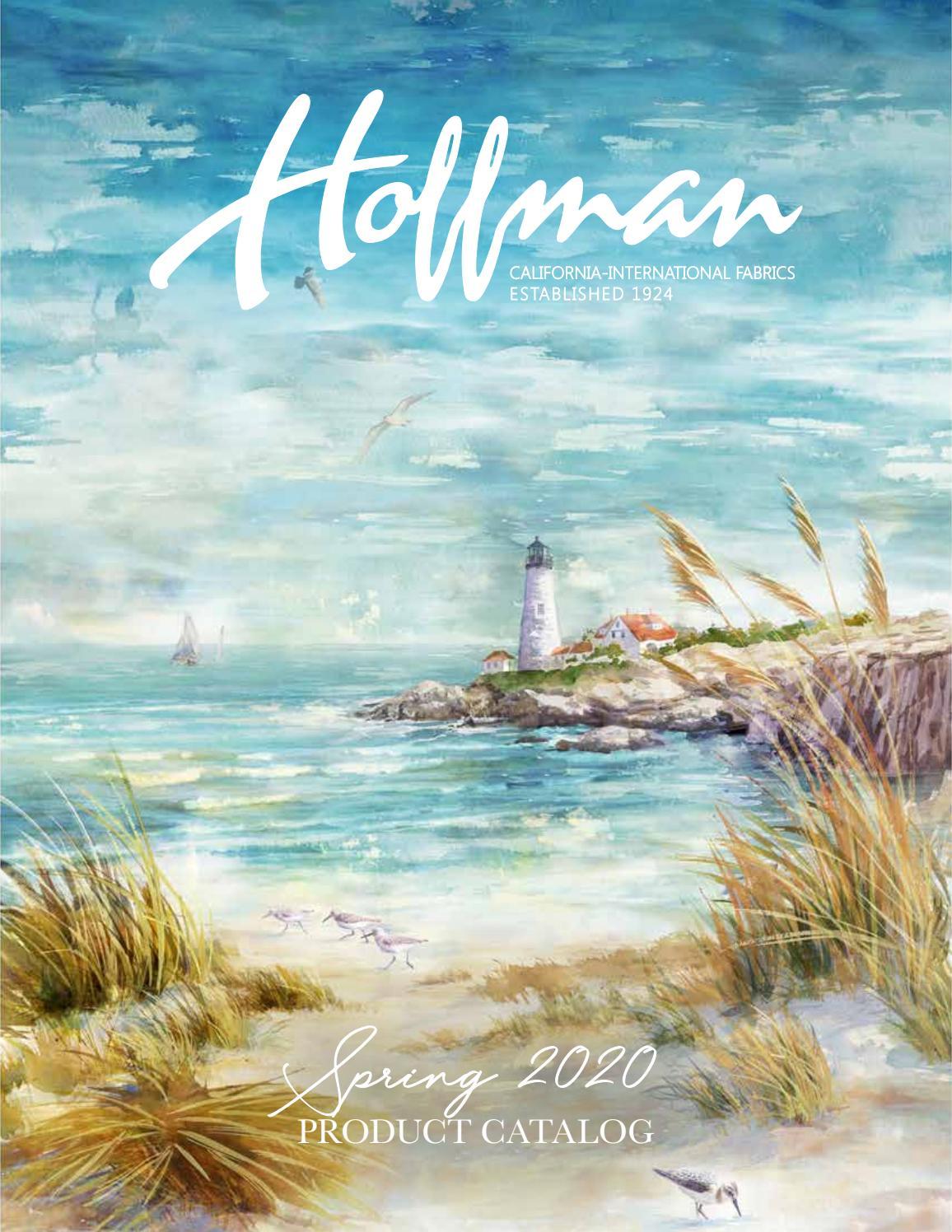 Hoffman Fabrics Spring 2020 Product Catalog By Hoffman California Fabrics Issuu