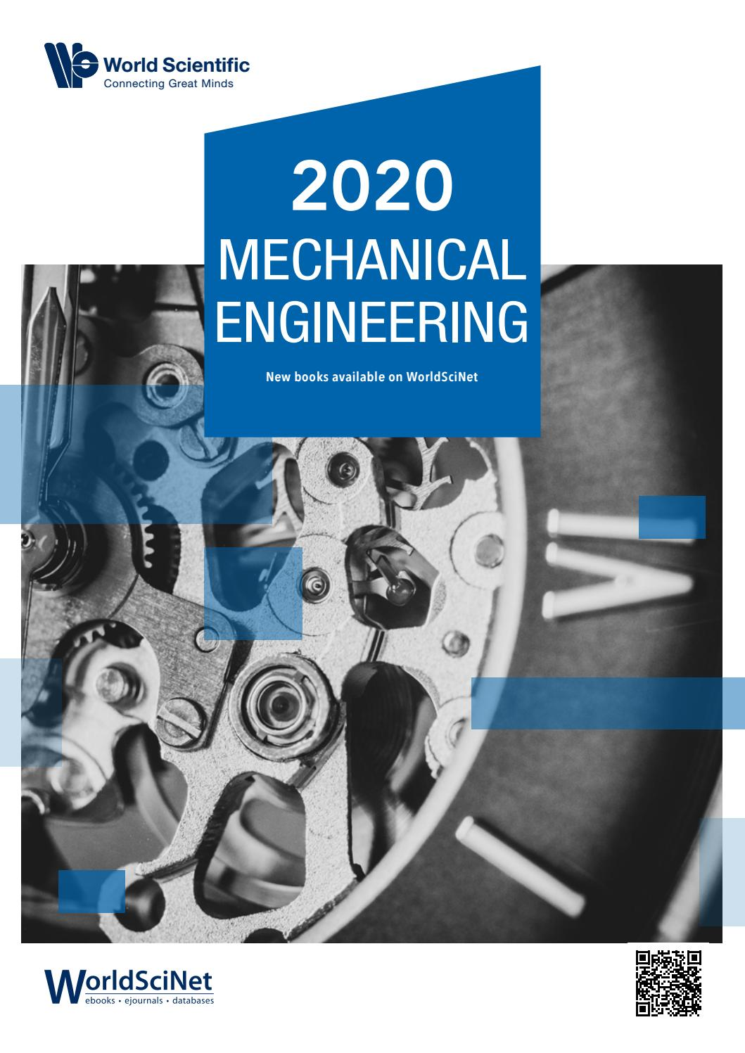 World Scientific Publishers 2020 Mechanical Engineering By Kemper Conseil Publishing Issuu