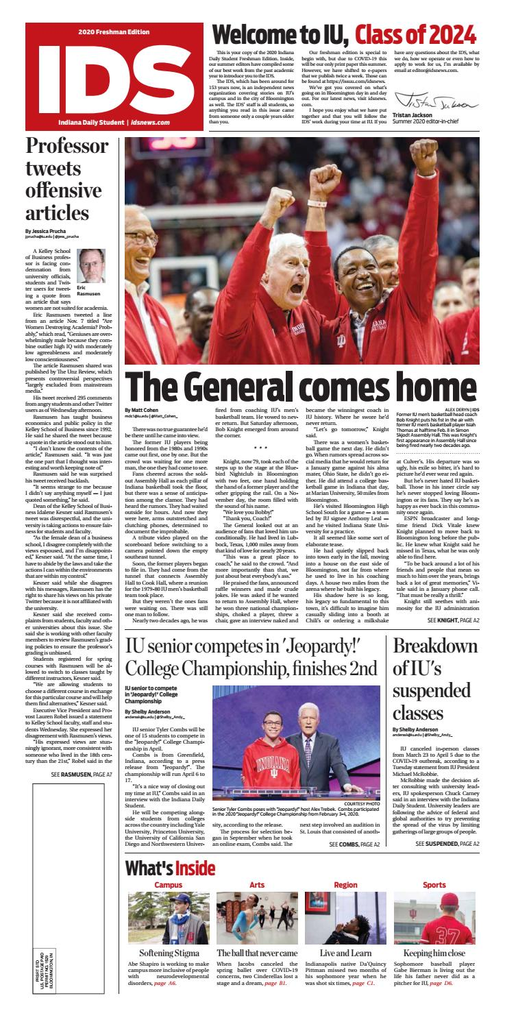 IDS 25 Freshman Edition by Indiana Daily Student   specials ...