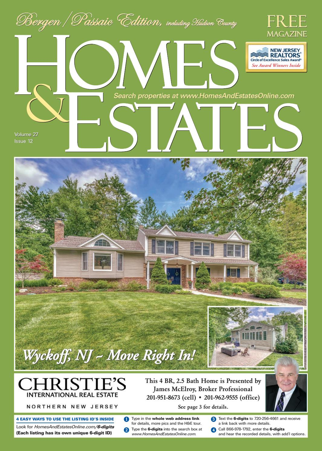 Homes Estates Mag Bergen Passaic June 10 June 24 2020 By Homes And Estates Issuu