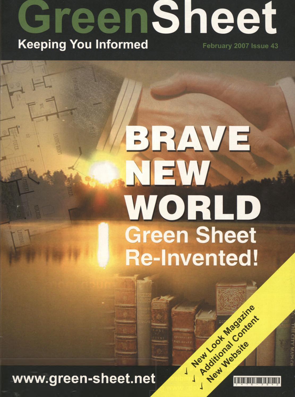 The Green Sheet 043 By Intelligen Publishing Issuu