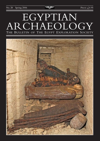 "Cover of ""Egyptian Archaeology 28"""