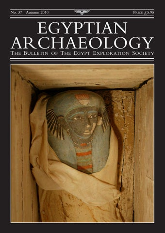 "Cover of ""Egyptian Archaeology 37"""