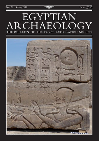 "Cover of ""Egyptian Archaeology 38"""