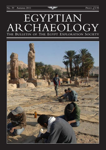"Cover of ""Egyptian Archaeology 39"""