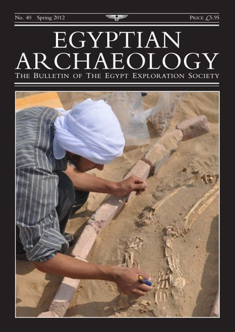 "Cover of ""Egyptian Archaeology 40"""
