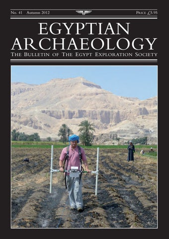 "Cover of ""Egyptian Archaeology 41"""