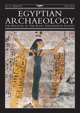 "Cover of ""Egyptian Archaeology 42"""