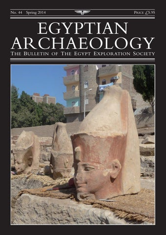 "Cover of ""Egyptian Archaeology 44"""