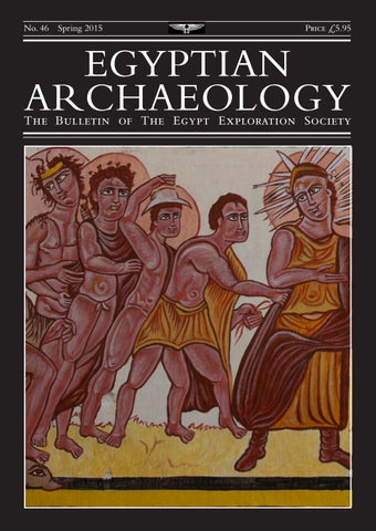"""Cover of """"Egyptian Archaeology 46"""""""