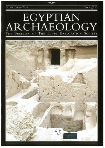 "Cover of ""Egyptian Archaeology 48"""
