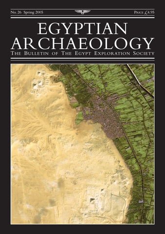 "Cover of ""Egyptian Archaeology 26"""
