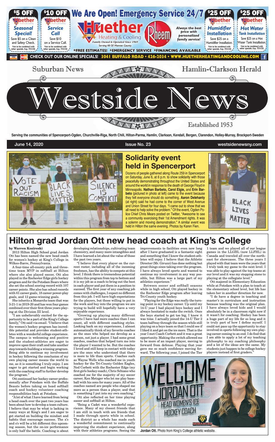 Westside News June 14 2020 By Westside News Inc Issuu