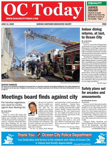 6 12 2020 By Ocean City Today Issuu