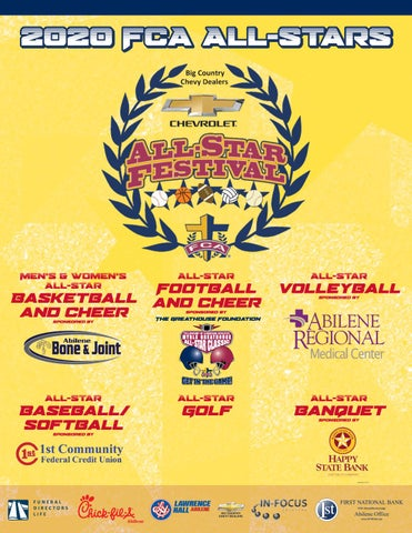 Big Country Fca 2020 All Star Festival Game Program By Big Country Fca Issuu