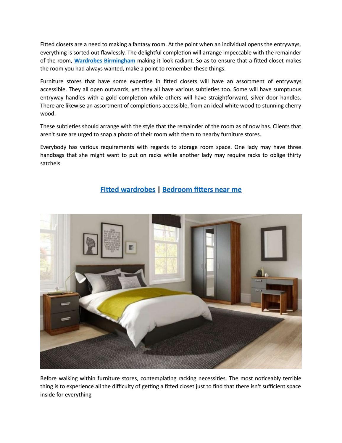 Bedroom Fitters Near Me By Jacksonbird786 Issuu