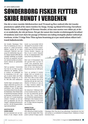 Page 18 of SØNDERBORG FISKER FLYTTER SKIBE RUNDT I VERDENEN