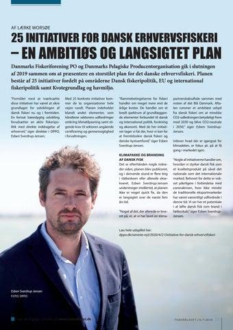 Page 23 of 25 INITIATIVER FOR DANSK ERH VERVSFISKERI – EN AMBITIØS OG LANGSIGTET PLAN